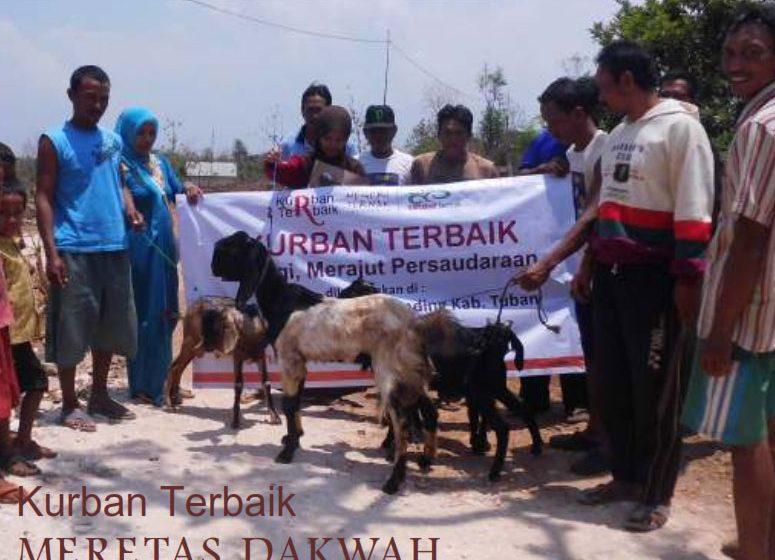 Laporan Kurban Terbaik untuk Indonesia 2012