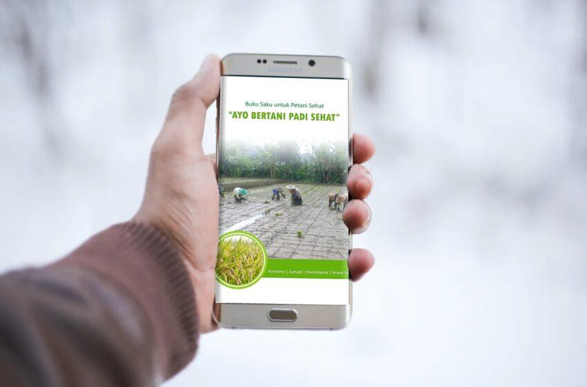 Buku Saku untuk Petani Sehat Ayo Bertani Padi Sehat