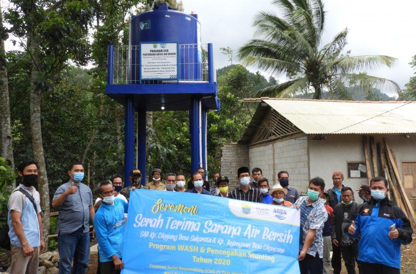 Program WASH dan Pencegahan Stunting Terintegrasi di Cianjur Tahun 2020